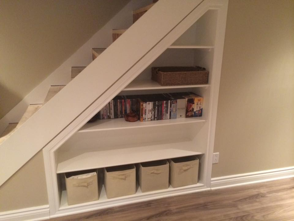 Understairs-shelf