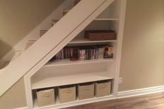 Understairs-shelf